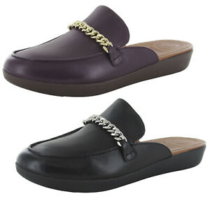 Fitflop Womens Serene Chain Slip On Mule Shoes