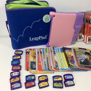 Leapfrog LeapPad Learning System Pink & Books/Cartridges Bundle #405