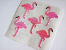 Vintage Sandylion Pearl Opal Pearly Flamingo Sticker Mod - MOP Iridescent