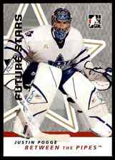 2006-07 In The Game Between The Pipes Justin Pogge #30