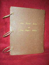 1940's LDS MISSIONARY FLIP CHART TEACHING AID Mormon Book NORWEGIAN