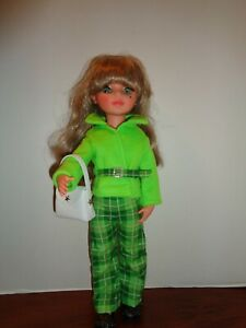 """PRETTY JACKET AND PANTS OUTFIT FOR 17"""" ALTA MODA FURGA DOLL"""