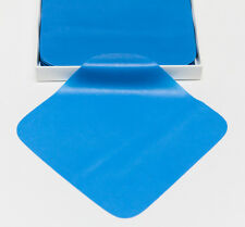 "Dental Endodontic Rubber Dam Natural Latex Medium Gauge 6"" x 6"" Blue - 36/box"
