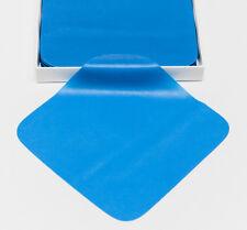 "Dental Endodontic Rubber Dam Natural Latex Medium Gauge 5"" x 5"" Blue - 52/box"