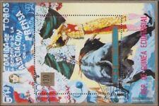 Guinea Ecuatorial Bloque 170 (completa edición) usado 1975 Corridas de toros
