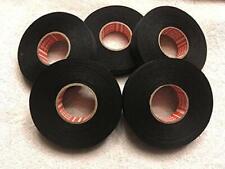 New listing 5 Rolls Tesa's Most Advanced High Heat Harness Tape 51036 Mercedes, Black