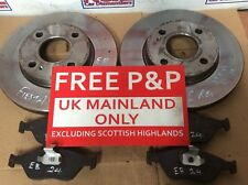 FORD FIESTA FRONT BRAKE DISCS AND PADS CAME OFF 06 Reg Car.