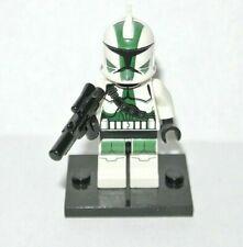 LEGO Star Wars : Clone Commander Gree - minifig figurine - set 9491 sw380 sw0380