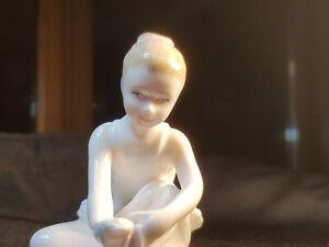 "Royal Doulton ""Ballet Shoes"" 1992 Figurine HN3434"
