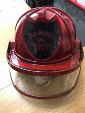Red Jack Daniels **FIRE FIGHTER HELMET** Fireman Tennessee Toy Hat