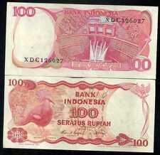 INDONESIE  100 rupiah  1984    ( XDC126027 )