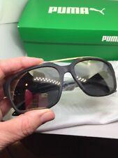 Puma Mirrorred Tortoise Shell Sunglasses $79 Retail Nwt Bag Box