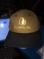 trucker hat baseball cap OLYMPIC OIL cool lid old school