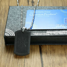 Anti EMF Radiation Protection Pendant Power Energy Scalar Quantum Bio Necklace