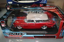 Maisto 1:18 Scale Pro Rodz Series 1955 CHEVROLET NOMAD (RED)