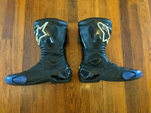 Alpinestars S-MX 5 CE Armored Leather  Motorcycle Boots - Euro 42 / US Men's 8