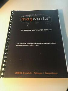 Unimog Ersatzteil-Katalog U403-U406-U416-U417-U421