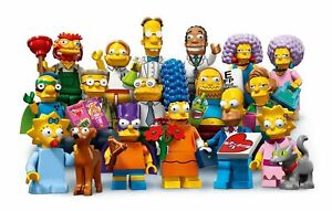 LEGO The Simpsons Series 2 Minifigures Choose Your Figure Brand New 71009