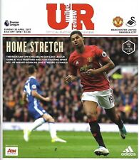 MANCHESTER UNITED v SWANSEA CITY Premier League 2016/17 MINT