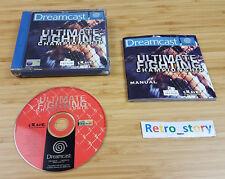 SEGA Dreamcast Ultimate Fighting Championship PAL