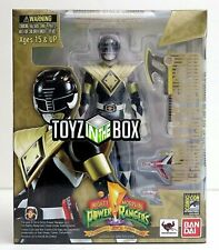 S.H. Figuarts SDCC 2014  Mighty Morphin Power Armored Black Ranger Action Figure
