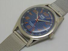 HMT genuine Pilot hand winding men's steel vintage India made watch