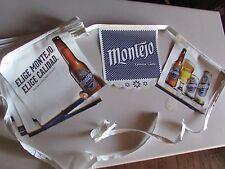 NEW Montejo Vinyl Beer String Banner Sign Elige Modelo Calidad Cerveza Brew T=44