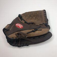 "Rawlings 12.5"" Baseball Glove RBG36DBW Leather Zero Shock"