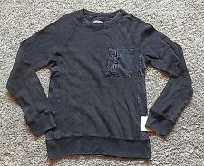 NWT Men's Black Long Sleeve Mossimo Pullover Top Large