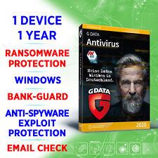 ⭐ G DATA Antivirus 2020 1 PC 1 Jahr VOLLVERSION / Windows / GDATA