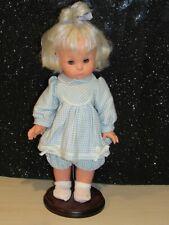 "Vintage FURGA Italian Doll 12"" MARIOLINA 1960s ITALY PLATINUM BLONDE ORIG OUTFIT"