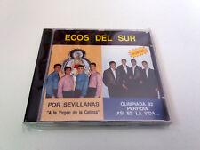"""ECOS DEL SUR """"ASI ES LA VIDA POR SEVILLANAS"""" CD 16 TRACKS"""