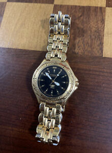 Fossil Watch Blue 50 Meters AM 3182 Gold