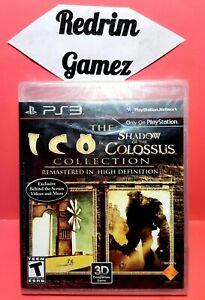 Ico & Shadow Of The Colossus Collection NEW PS3 Video Games