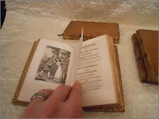 Lot 4 tomes anciens oeuvres de Collin d'Harleville, Ménard et Desenne, 1820