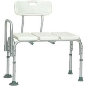 PMI ProBasics Adult Shower Transfer Bench Bath Chair Seat, 300lbs