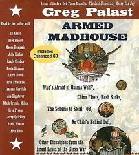 BOOK/AUDIOBOOK CD Greg Palast Politics ARMED MADHOUSE