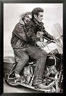 FRAMED James Dean & Marilyn Monroe (Motorcycle) 24x36 Movie Print Poster Romance