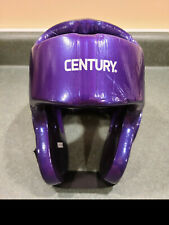 Century TKD Adult Small  Purple Sparring  Head Gear with no face shield