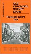 OLD ORDNANCE SURVEY MAP PONTYPOOL (NORTH) 1899