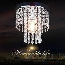 Modern Chrome Crystal ceiling Lights lamp Fixtures pendant Chandelier HC