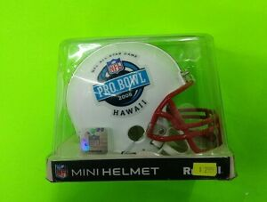 NFL PRO BOWL 2008 RIDDELL MINI HELMET! JOE THOMAS PEYTON ELI MANNING!
