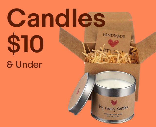 Décor Candles under $10.00