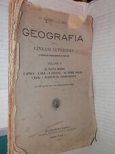 GEOGRAFIA O Marinelli L Ricci Societa Editrice Dante Alighieri 1925 Volume 2 di