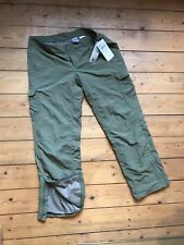 Neue Columbia Titanium  Damen-Trecking-hose Gr. 14 XL Uvp 79€ Outdoor- Oliv