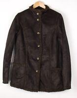 L. L. Bean Femme Décontracté Sherpa Veste Manteau Taille M ATZ1050