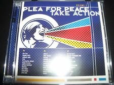 Plea For Peace Take Action Vol 2 CD (Taking Back Sunday Anti-Flag Finch Cave In)