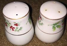 Salt And Pepper Shakers Gibson Everyday Christmas Fine China Dinnerware