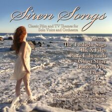MERIDIAN STUDIO ENSEMBLE - SIREN SONGS: CLASSIC FILM AND TV TH   CD NEW+