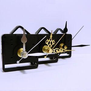 Quartz clock movement quiet super-sweep mechanism (non ticking) DIY, repair kit